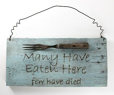 Rustic Country Farmhouse Kitchen Sign Wall Hanging