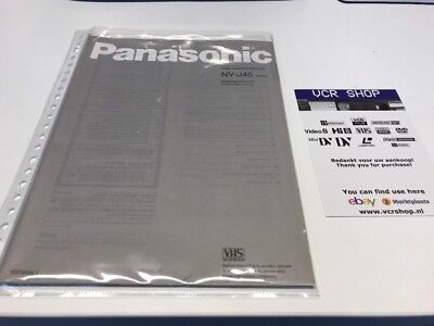 Manual: Panasonic NV-J45 Series - EN, DE
