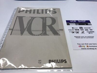 Manual: Philips VR675 - NL, DE, IT