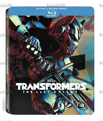 Transformers The Last Knight 2D Blu-ray Steelbook Fnac Exclusive [France]