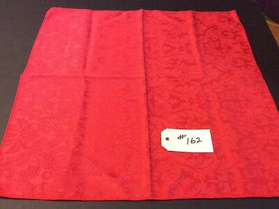 12 Red Christmas Damask Dinner Napkins Beautiful