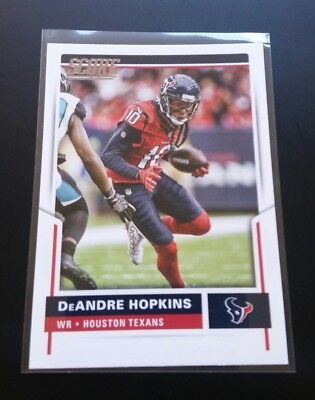 DeAndre Hopkins Texans #139 Panini Score 2017 NFL Football Card