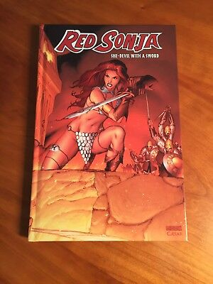 RED SONJA - She-Devil with a sword - Vol. 1 Hardcover LIMITED & SIGNED