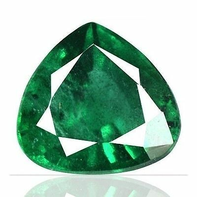 1.41 cts Natural Top Emerald Heart Cut Zambia untreated summer bargain Sale