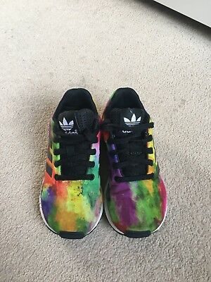 Girls Adidas Zx flux Trainers Size 11