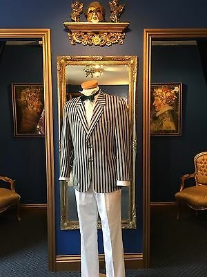Fantastic Edwardian Theatrical Style Men's Blazer, Top Item , Very Low Price!!