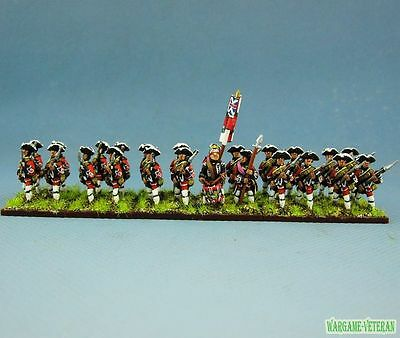 15mm SYW Seven Years War WGS painted British Musketeer Btln Ba5