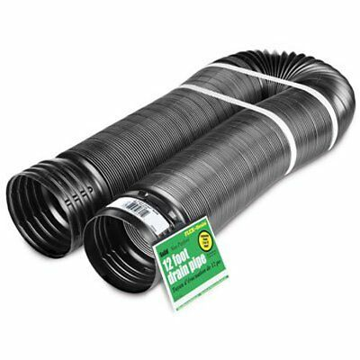 Flex-Drain 51710 Flexible/Expandable Landscaping Drain Pipe Solid 4-Inch by 1...