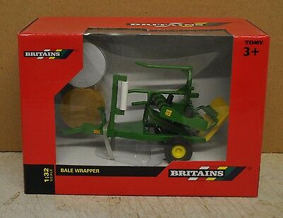 Britains 1/32 Trailed Bale Wrapper ,mib, Suit Tractor