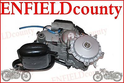 COMPLETE 2 STROKE 5 PORT ENGINE WITH REAR BRAKE DRUM VESPA PX LML 150cc @AEs