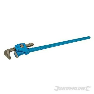 "Ex-Demo 36"" Stilson Plumber Pipe Monkey Wrench 900Mm Long 80Mm Jaw Plumbing Wr95"