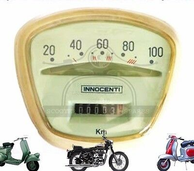 NEW LAMBRETTA SPEEDOMETER LI TV SERIES 3 100 KM/H VEGLIA @AEs