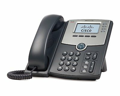CISCO SYSTEMS SPA504G 4 Line IP Phone With Display PoE and PC Port - (Phones > I