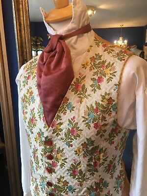 Very Dapper Edwardian Period Style Theatrical Men's Waistcoat, Top Item!!!