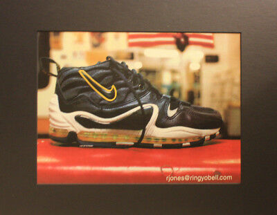 1997 Nike Air Ubiquitous Max Shoe Poster Print Ad 11x14 Ready to Frame