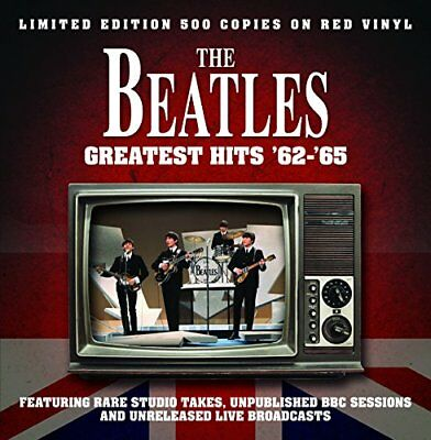 The Beatles – Greatest Hits '62-'65:  Limited Edition 500 Copies on Red Vinyl