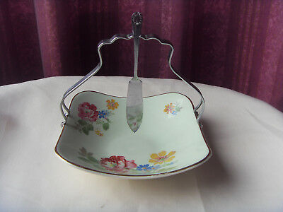 Vintage - Midwinter - Jam Dish And Spoon