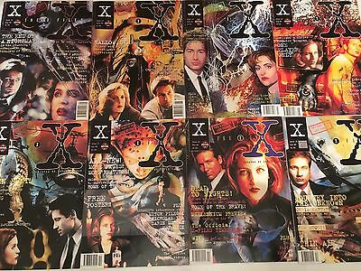 The X-Files Magazine Collection Issues 12-27 Excellent Condition