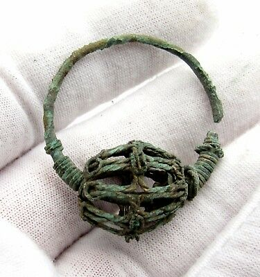 Viking/medieval Era Earring - Ancient Historical Artifacts Rare Lovely - P469