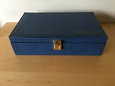 Used - Box for Straps MORELLATO Caja para Correas - 34 x 20 x 9 cm - Blue / Azul