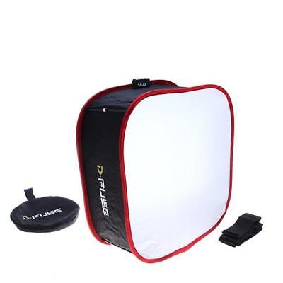 "D-Fuse DF-1M Collapsible Universal Softbox for Select LED Lights, 9.25x9.25"" Rea"