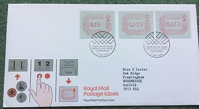 1984 Royal Mail Postage Labels First Day Cover/FDC