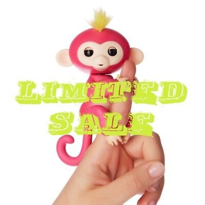 WowWee fingerlings Pink baby monkey BRAND NEW addition