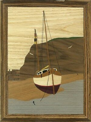 'Low Water' Large Marquetry Kit: Advanced Art & Craft Kit