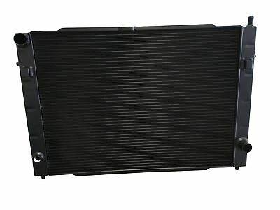 ROOSE.Lotus Carlton Lightweight High Efficiency Alloy Radiator. Black