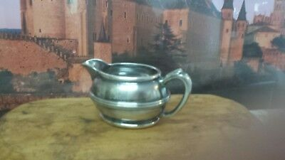 WWII Reed and barton vintage silver Soldered 3000 5 oz w/ Military USN Creamer
