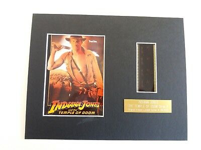 INDIANA JONES AND THE TEMPLE OF DOOM Original Limited Edition film cells mounted