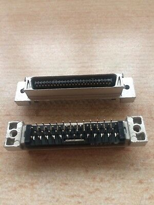 50 way mini SCSI? connector part number 50305003 metal PCB mounted £5.00 Z1395