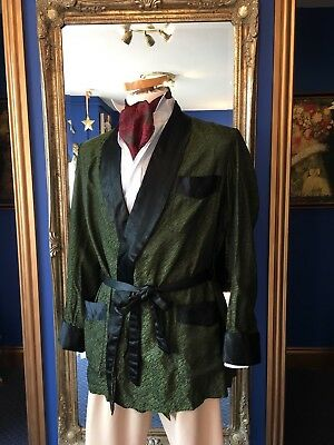 Handsome Men's Period Theatrical Smoking Jacket, Super Low Start Price!!