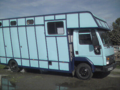 7.5T Ford -Iveco Cargo Horsebox