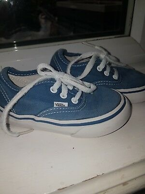 Vans boys shoes size 6.5
