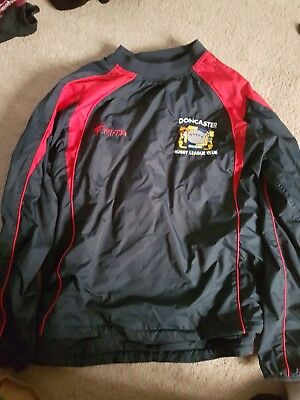 Doncaster RLFC players waterproof Top