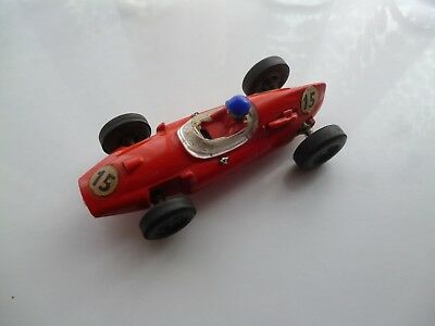 Cooper Red C/54 Scalextric 1960 Tested Nice Car