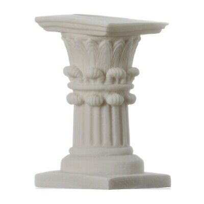 Corinthian Order Candle Holder Ancient Greek Column Decoration Architecture 4.7""