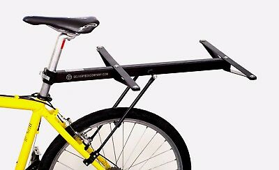 Bicycle Rear Rack Carrier for Delivery Pizza Box