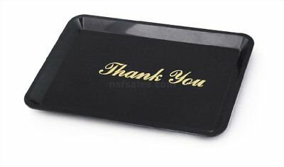 New Star 26917 Tip Tray Restaurant Guest Check Bill Holder 4.5 by 6.5-Inch Bl...