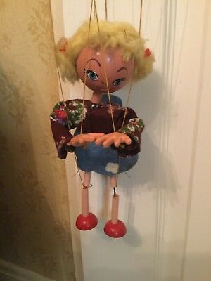 Vintage Pelham puppet. Played with
