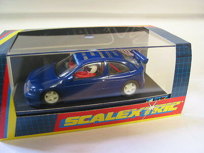 Scalextric Nscc Megan  Racing Weekend 1998  (1St Weekend Car) With Race Card