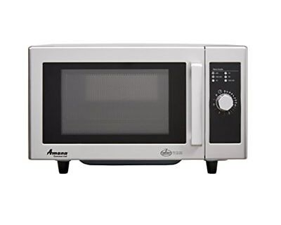 Amana RMS10DS 0.8-Cubic Feet 1000-Watt Light Duty Microwave Oven with Dial Ti...