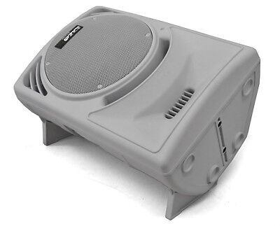 """Professional 300W Rms Dj Monitor 12"""" Active Pa Speaker White 2 Way"""
