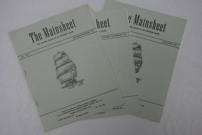 The Mainsheet. Volume 1, editions 1,2 & 4. In depth early Latin America articles