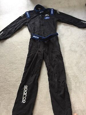 2016 Large Sparco M-Sport Mechanics Overalls Used