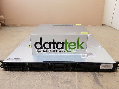 HP DL320 G6 1U RACK SERVER 1 x L5520, 4GB , P410/256MB, 1 x PSU (NHP), 2x 72GB