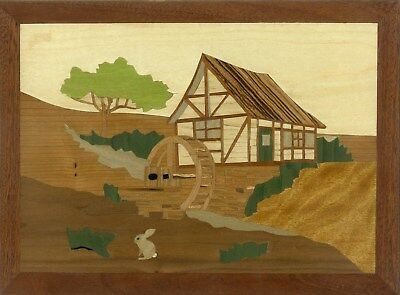 'The Old Mill' Large Marquetry Kit: Advanced Art & Craft Kit