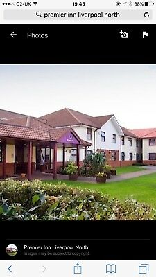 Premier Inn Liverpool North For 2 Nights In Family room fri/ sat 3rd & 4th Nov