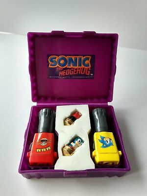 Vintage 1992 - Sonic The Hedgehog Duel - Tomy - Spinjas - Sega - Rare